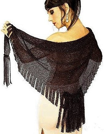 Costume Accessory Shawl Gothic Shimmery Costume