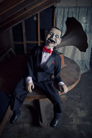 Horror Collectible by Scary Closet Billy Dead Silence Lifesize Master Puppet