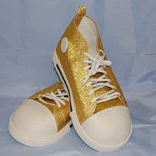 Costume Accessory Clown Gold Shoes