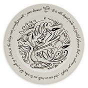 Disney Lumiere Be Our Guest Dinner Plate   / Beauty and the Beast