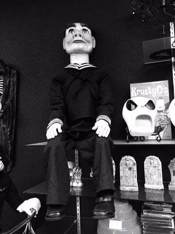 Horror Collectible by Scary Closet Willy Twilight Zone Master Lifesize Puppet