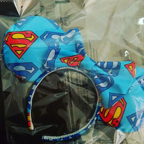 Superman Mickey Inspired Handmade Ears