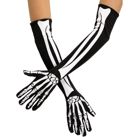 Costume Accessory Adult Gloves Opera Skeleton Gloves