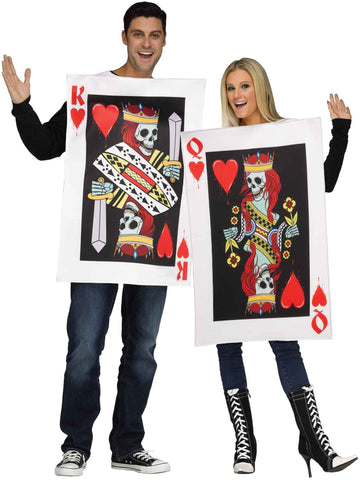 Couple Costume / King & Queen of Hearts Costumes
