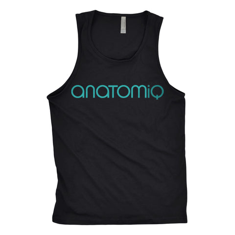 Men's Signature Tank - Jet Black - Anatomiq  - 1