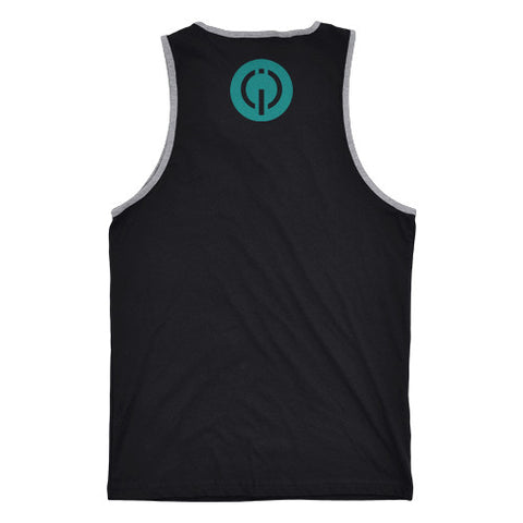 Men's Signature Tank - Black/Grey - Anatomiq  - 2