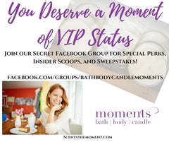 You deserve a Moment of VIP status