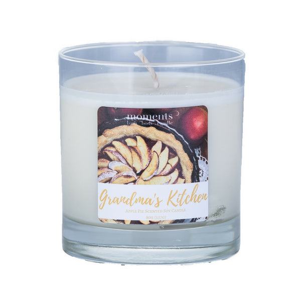 Grandma's Kitchen Apple Pie Scented Soy Candle