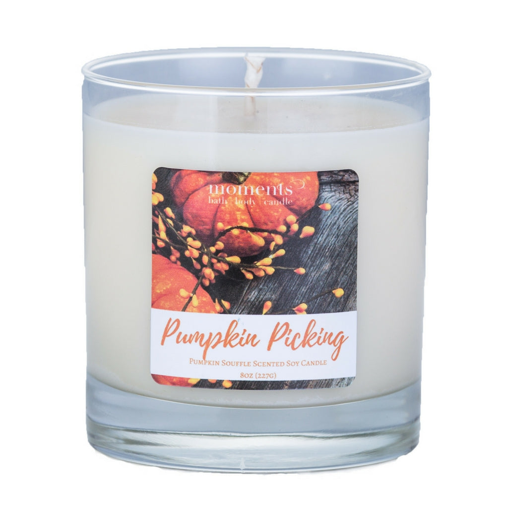 Pumpkin Picking Soy Candle Pumpkin Souffle Scented