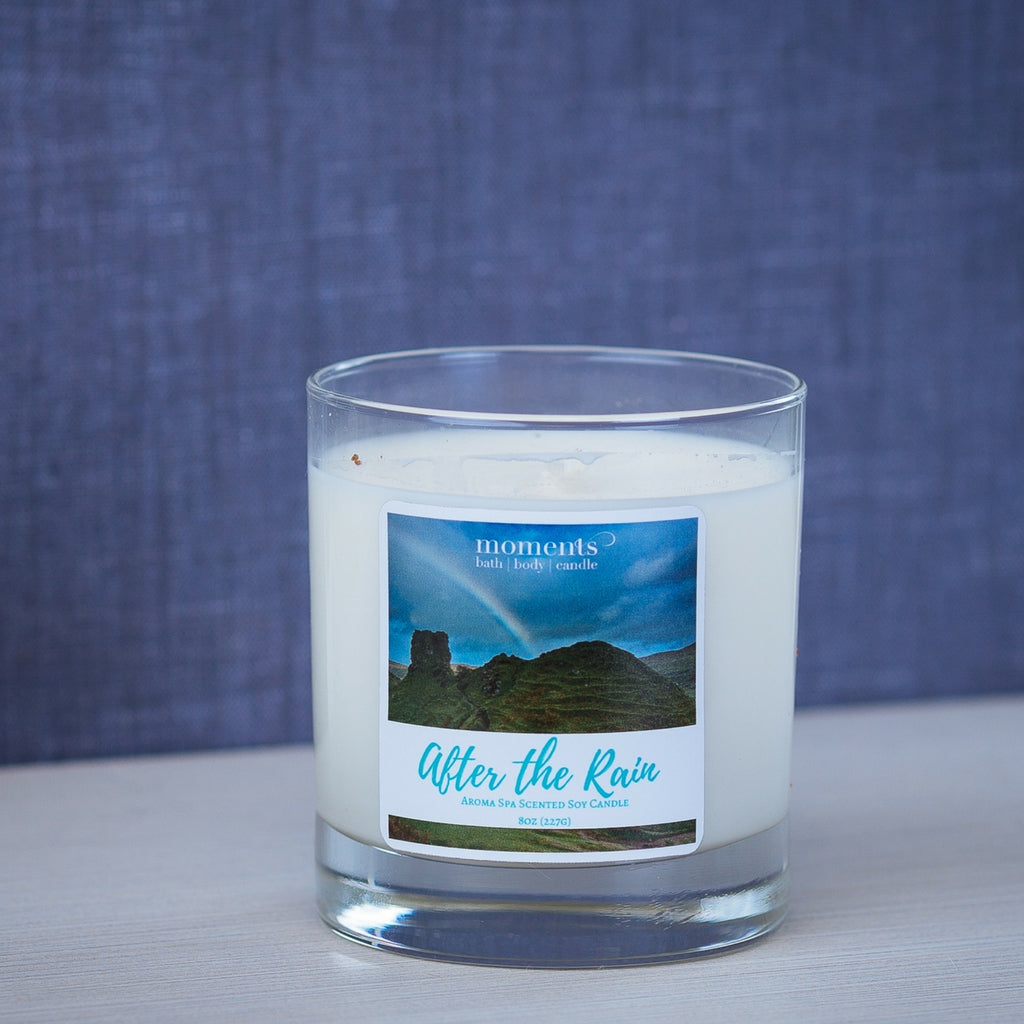 After the Rain Fresh Scent Soy Candle