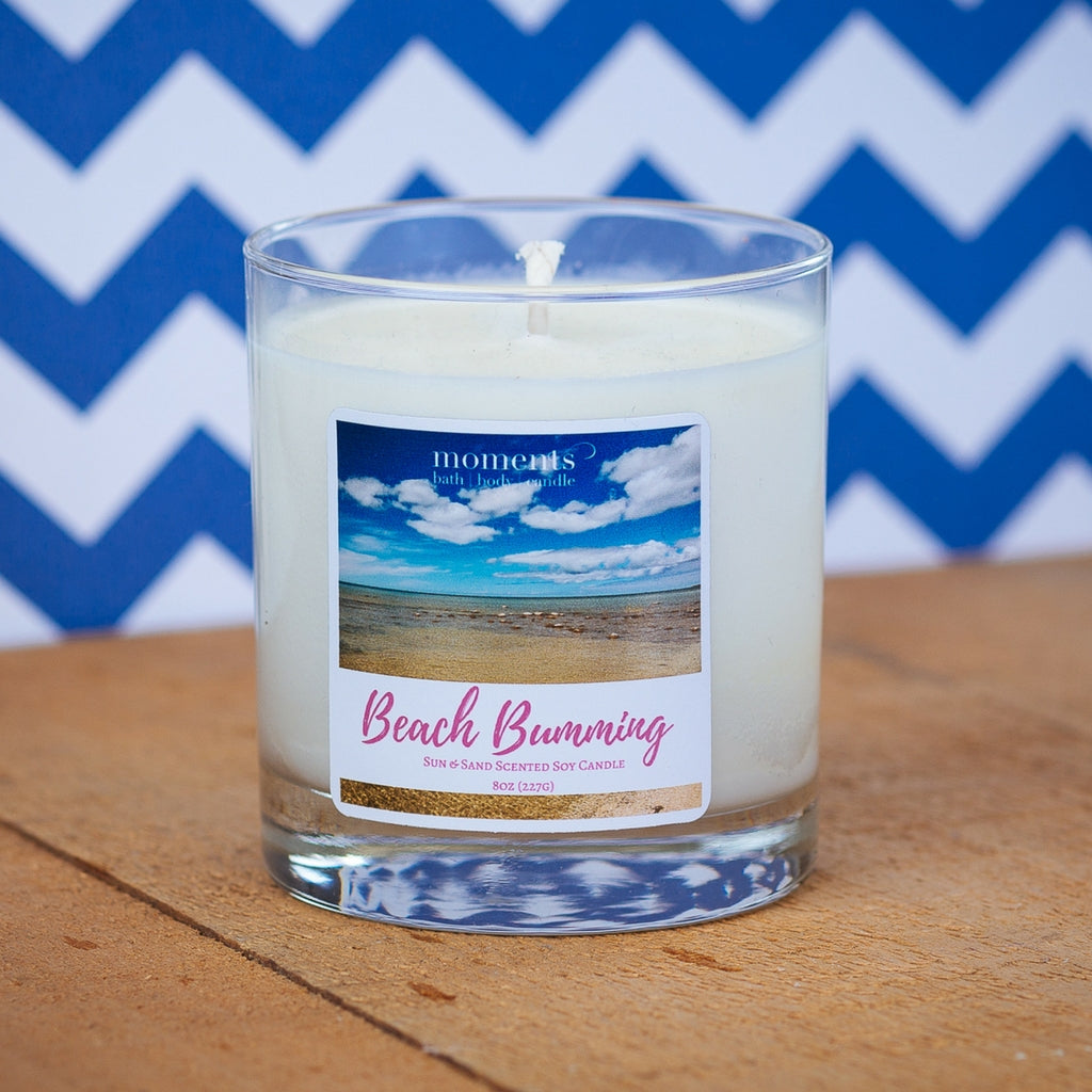 Beach Bumming Soy Candle Sun Sand Sea