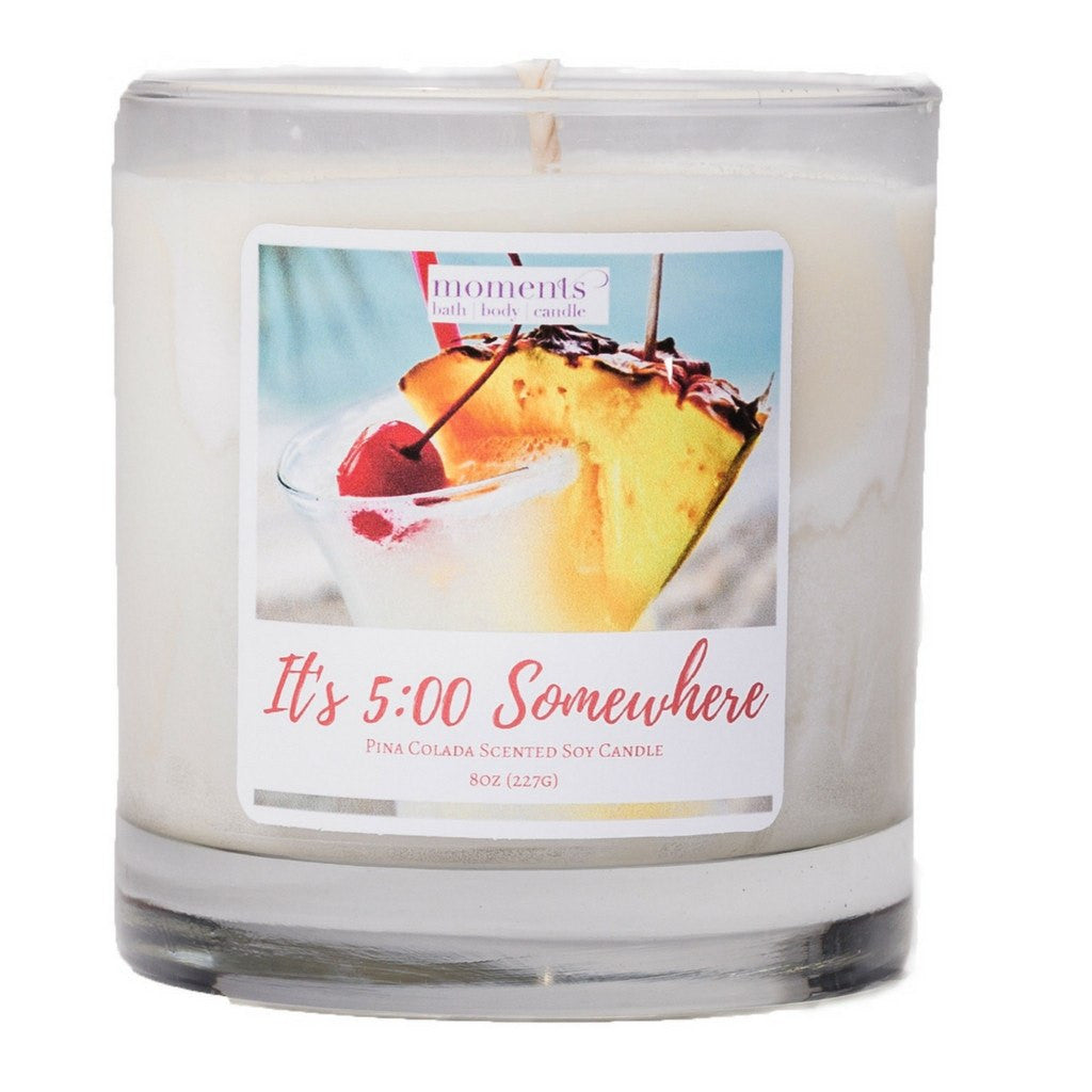 Candles - It's 5:00 Somewhere Candle (Pina Colada)