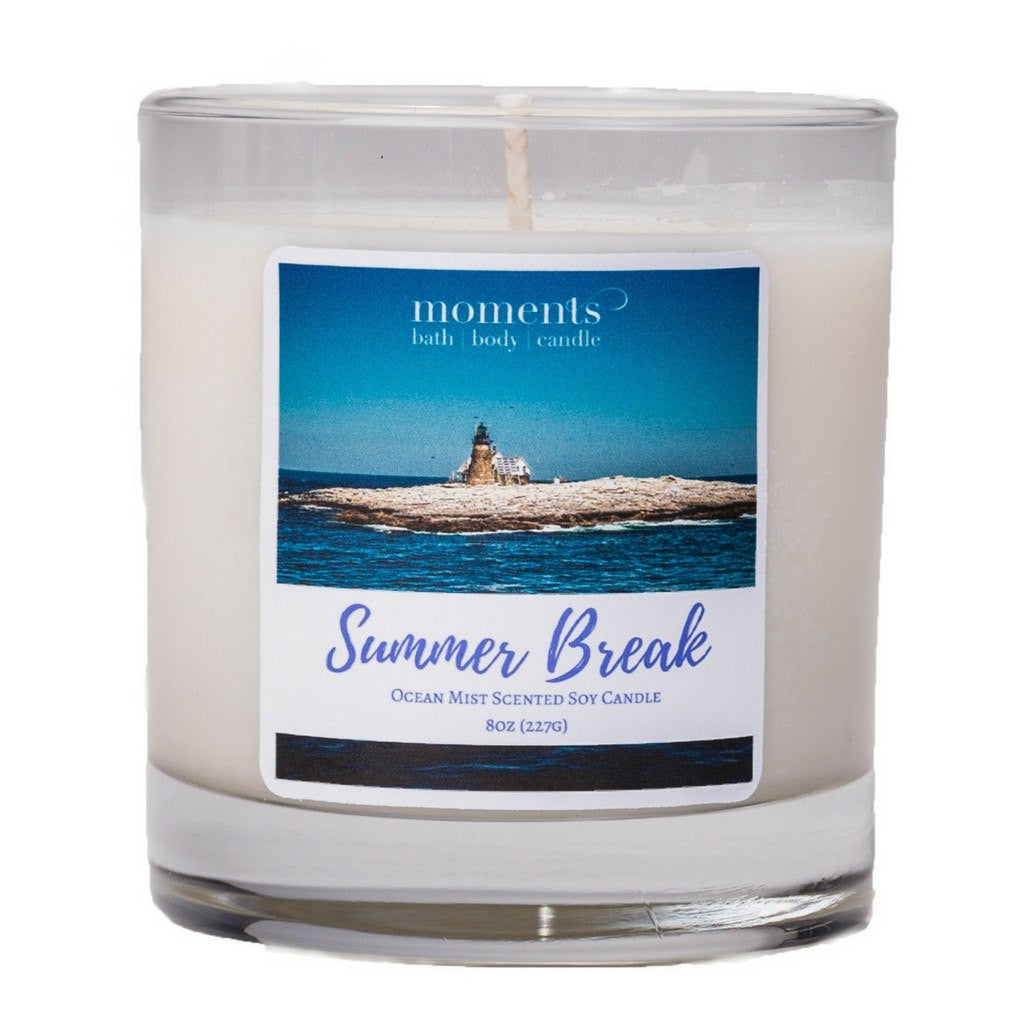 Candles - Summer Break Candle (Ocean Mist)