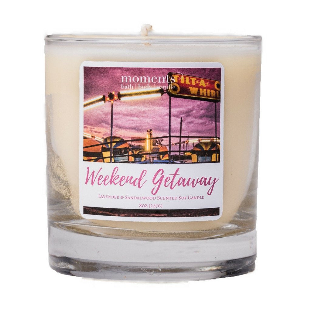 Candles - Weekend Getaway Candle (Lavender & Sandalwood)