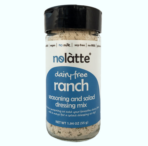 Dairy-free and Vegan Ranch Seasoning & Salad Dressing Mix
