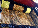 Multi Minky realtree camo baby bedding set for your nursery