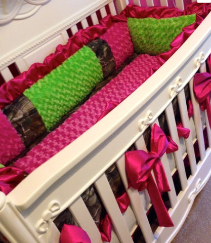 Girls hunt too! baby bedding set for your nursery
