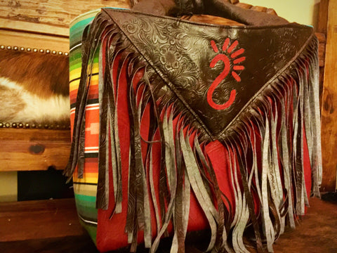 Sunset serape bag