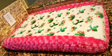 Sassy cactus changing pad cover