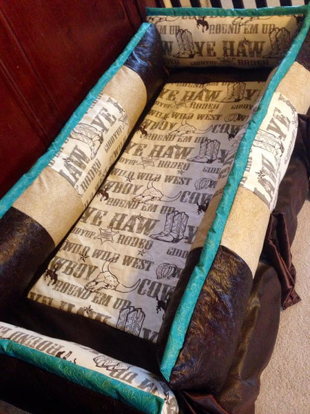 The Outlaw Cowboy Western Baby Bedding For Your Nursery