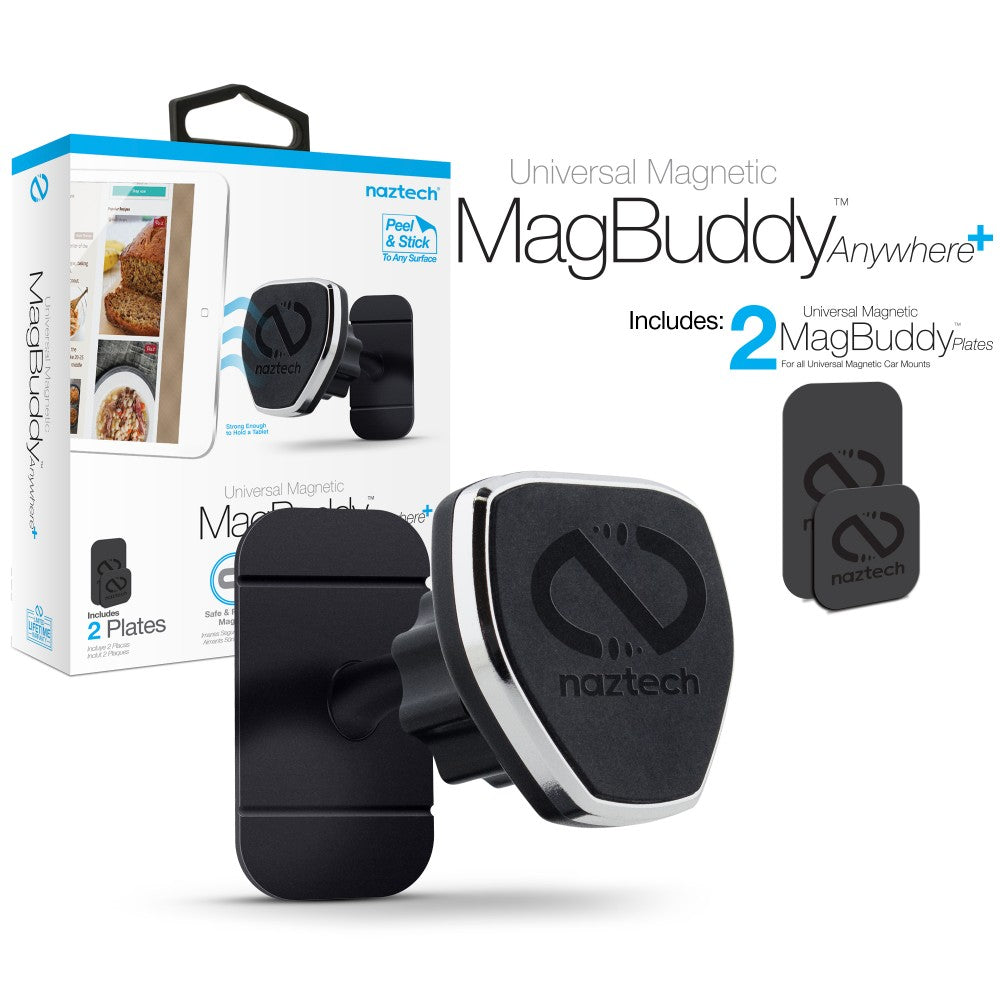NAZTECH MagBuddy Anywhere + CAR HOLDER