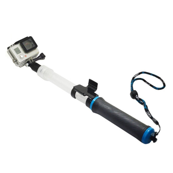 Gopro Floating Extension Pole Go pro diving selfie stick waterproof monopod for Gopro hero