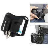 Fast Loading Camera Hard Plastic Holster Waist Belt Quick Strap Buckle Button Mount Clip For DSLR Cameras