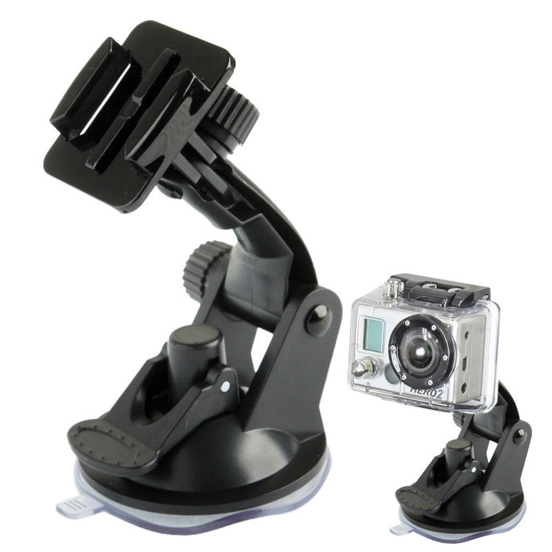 Dashboard Car Mount & Suction Cup Vacuum for GoPro HD Hero Wind Shield