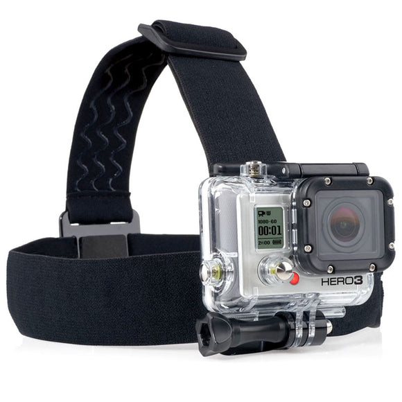 Elastic Adjustable Head Strap Mount Belt for GoPro and Action Cameras