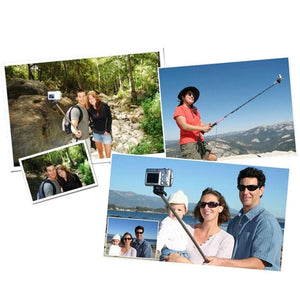 Monopod Phone Holder Clip and Bluetooth Remote Shutter selfie stick