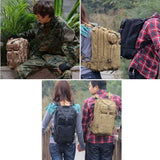 Army Military 3P Attack Backpack SWAT Bag 25L