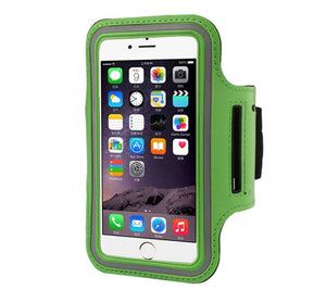ARMBAND MOBILE PHONE IPHONE 6 GREEN CASE