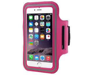 ARMBAND MOBILE PHONE IPHONE 6 HOTPINK CASE