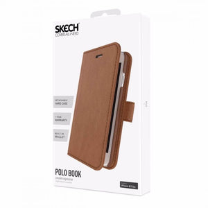 IPHONE 6 7 8 SKECH POLO BOOK CASE