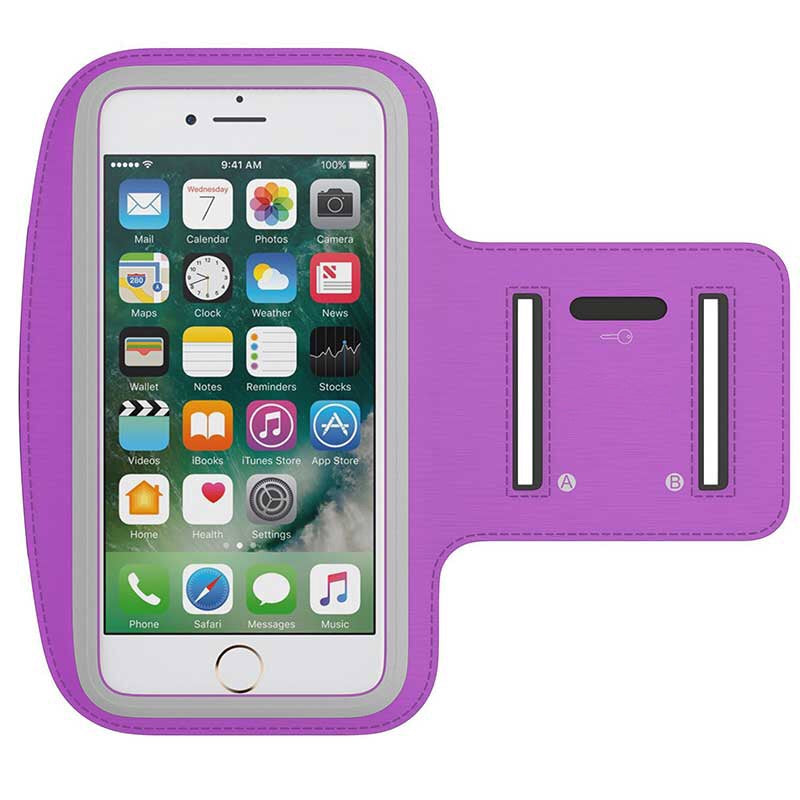 ARMBAND MOBILE PHONE IPHONE PURPLE CASE