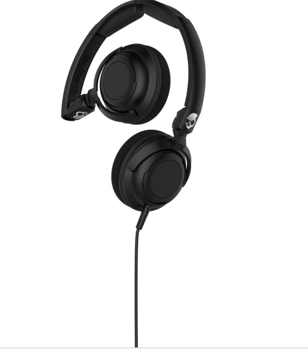 LOWRIDER BLACK HEADPHONES SKULLCANDY