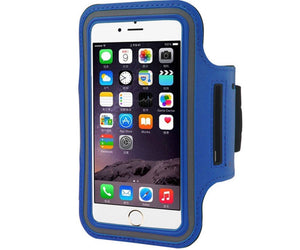ARMBAND MOBILE PHONE IPHONE 6 BLUE CASE