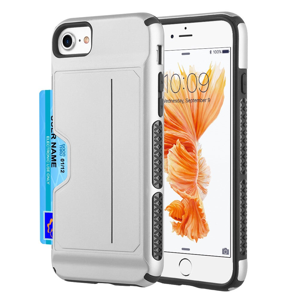 IPHONE 6 7 8 WALLET PLASTIC CARD