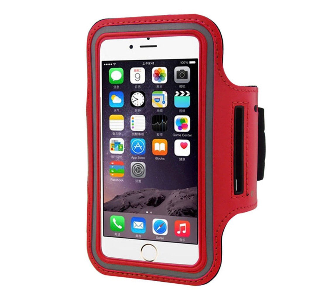 ARMBAND MOBILE PHONE IPHONE 6 RED CASE