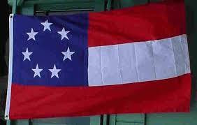 1st National Stars and Bars 3'x5'