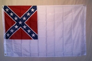 2nd National Confederate (CSA) 3'x5' Polyester Flag