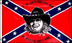 3'X5' HANK WILLIAMS REBEL FLAG