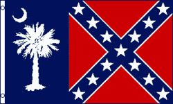 3x5 SOUTH CAROLINA REBEL FLAG