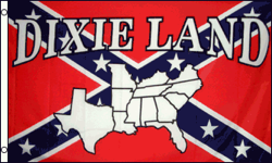 3'X5' SUPER POLY DIXIELAND REBEL FLAG