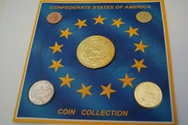 5 Coins Set Confederate State America (5 coins)