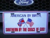 AMERICAN BY BIRTH AUTO TAG