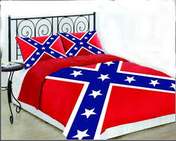 Rebel flag comforter set