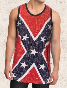 Rebel Flag Tank Top