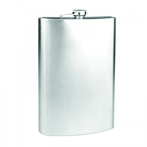 64oz Stainless Steel Giant Jumbo Liquor Flask