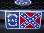 "North Carolina Battle Aluminum License Plates (Auto Tag). 6""x12"""
